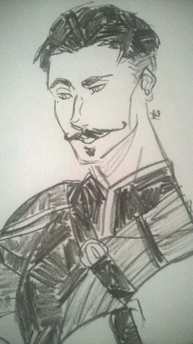 Dorian Doodle~ by Enthaga