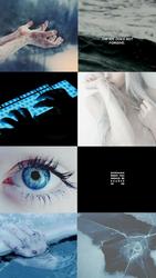 Blue Diamond- OC AESTHETIC Pt.2 by Enthaga