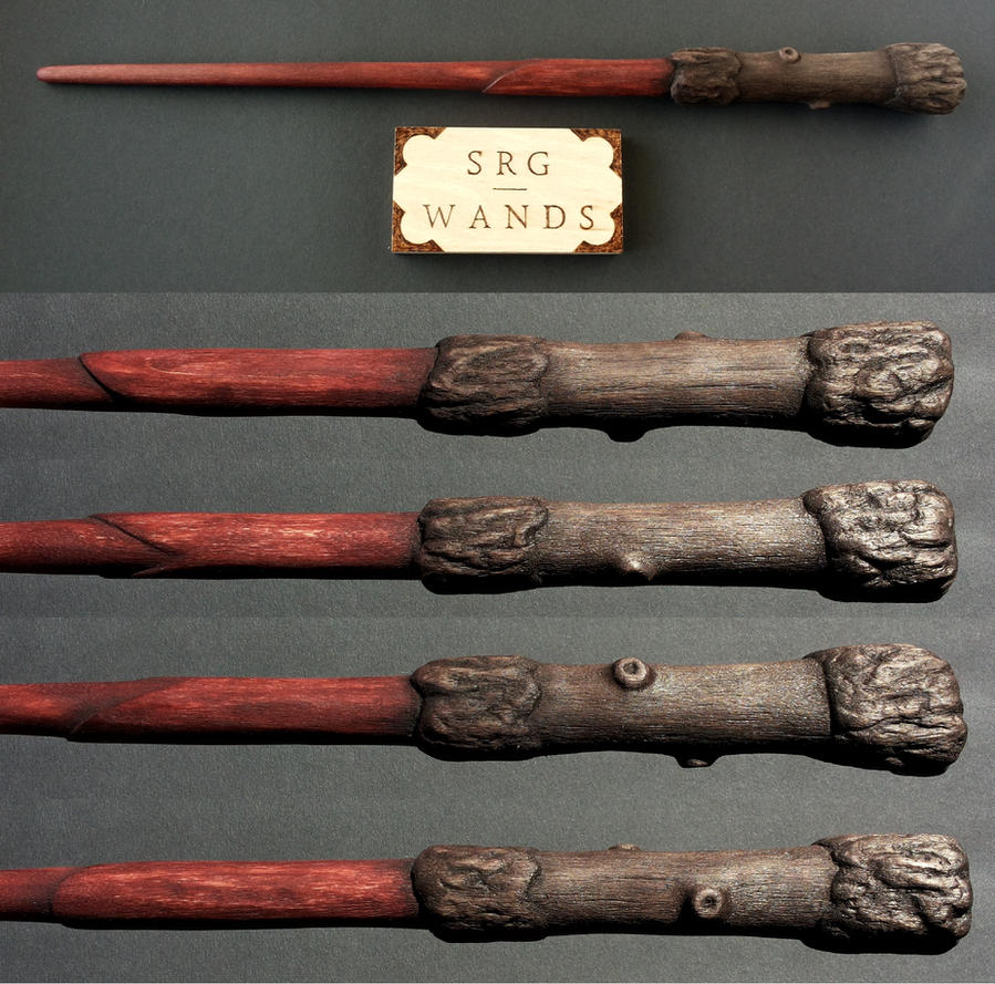 Harry potter wand wood replica by srg wands on deviantart - Coole wanddesigns ...