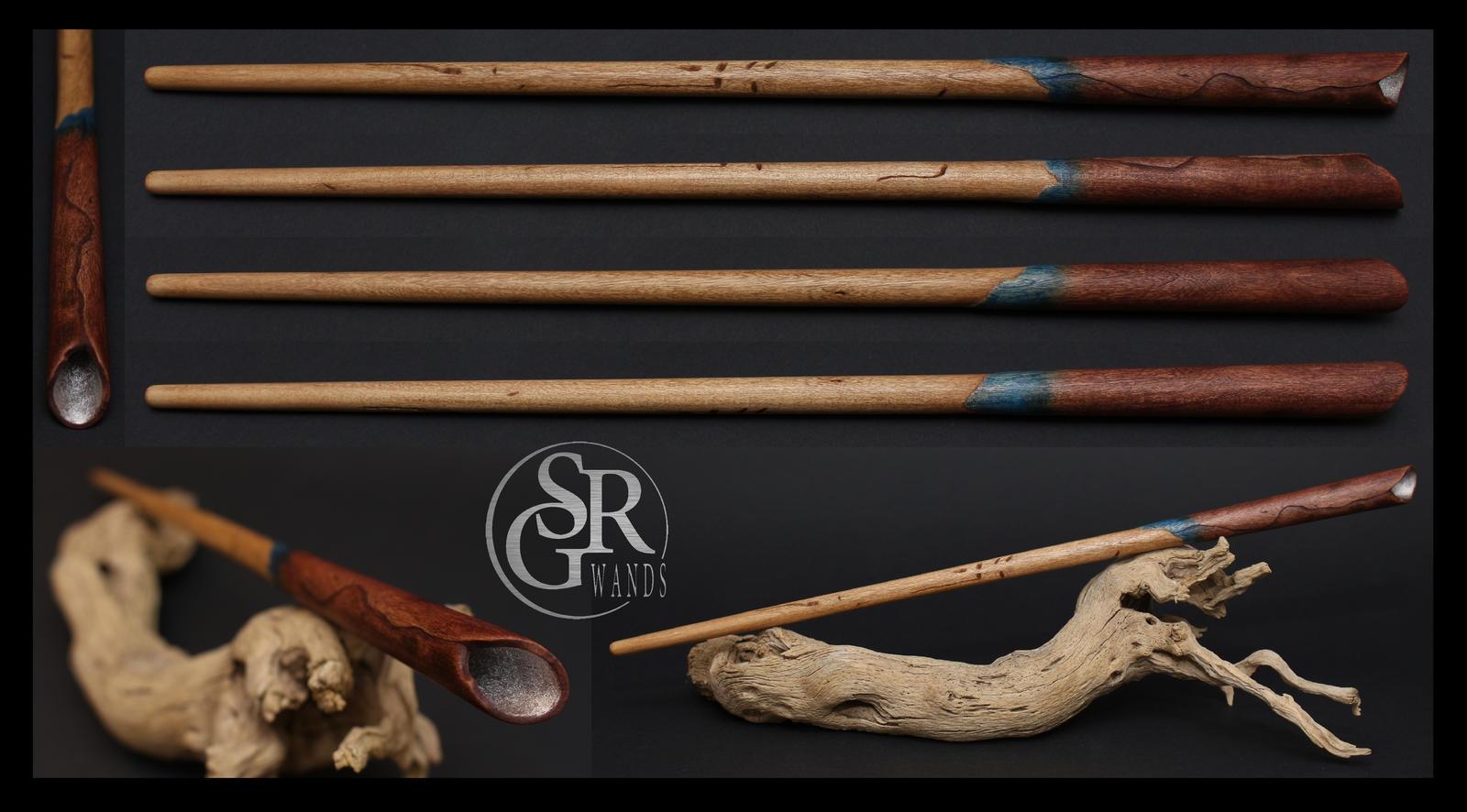 Newt scamander wand wood replica by srg wands on deviantart for Elder wand wood replica