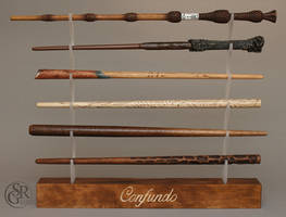Confundo Project - 6 wands by SRG-Wands