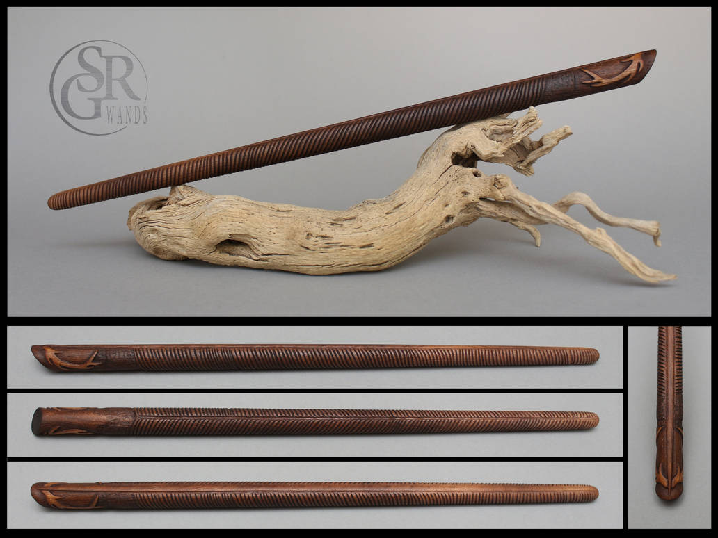 Quill And Antler Wand By Srg Wands On Deviantart