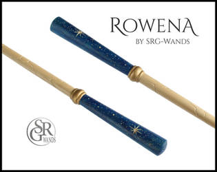 Rowena - Ravenclaw inspired Wand by SRG-Wands