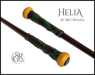 Helia - The Hufflepuff Wand by SRG-Wands