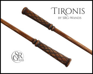 Tironis - The Wand of a Sorcerer's Apprentice by SRG-Wands