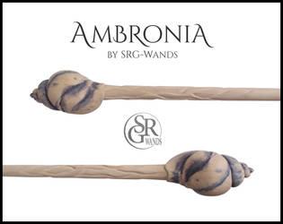 Ambronia - Whelk 'n' Waves Wand by SRG-Wands