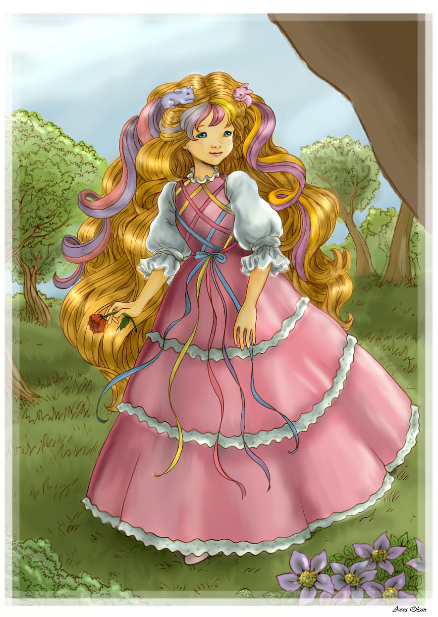 Lady Lovelylocks by Annausagi
