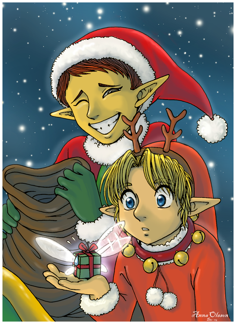 Merry Christmas...present by Annausagi