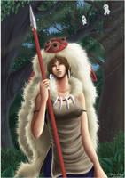 Mononoke Hime by Annausagi