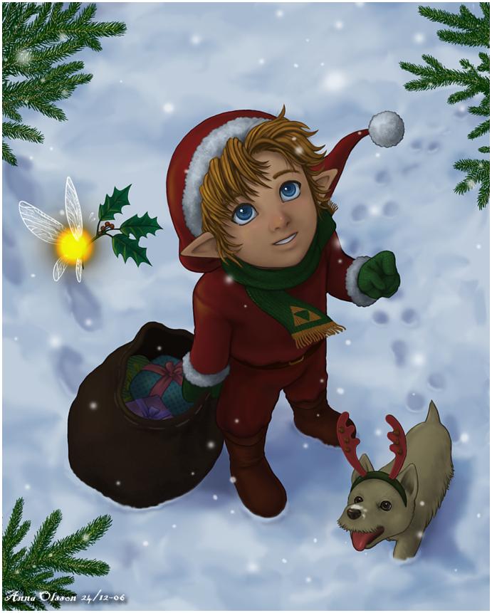 -Merry Christmas- by Annausagi