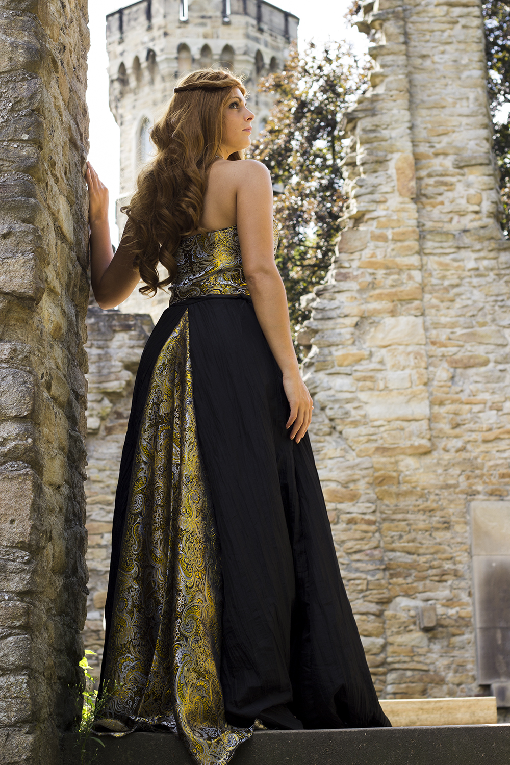 Margaery Tyrell - Black Dress by Dira-Chan on DeviantArt