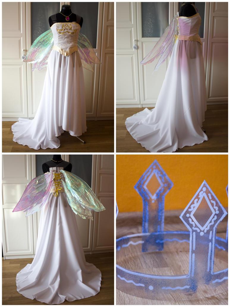 Aurora - Child of Light Costume by Dira-Chan