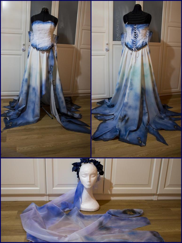 Emily Wedding Dress by Dira-Chan