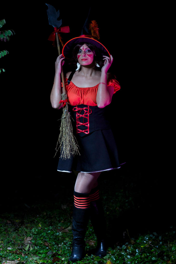 Witch Nidalee by Dira-Chan