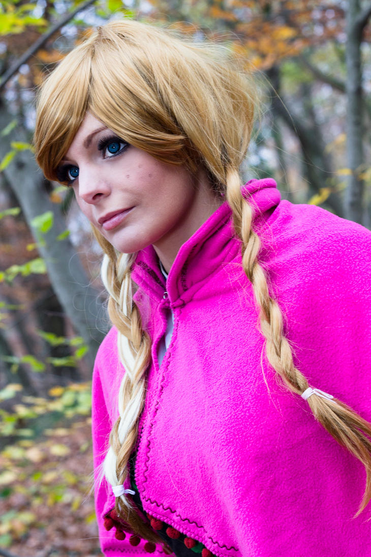 Anna from Frozen by Dira-Chan