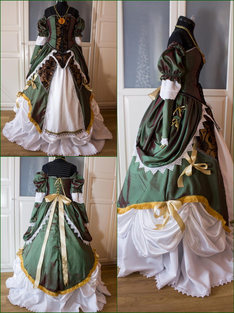 Elise de la Serre Party Dress by Dira-Chan
