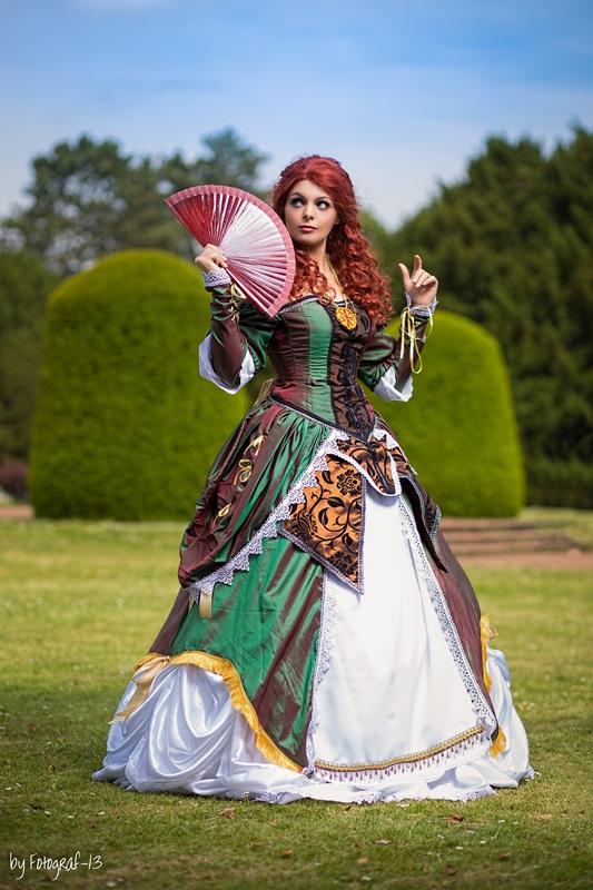 Elise De La Serre Ball Gown By Dira Chan On Deviantart