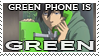 green phone is GREEN by master-deus