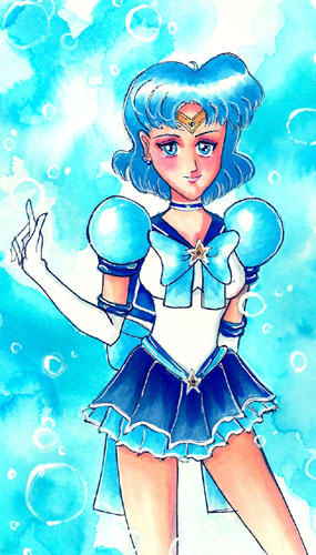 Eternal Sailor Mercury by cocoumi