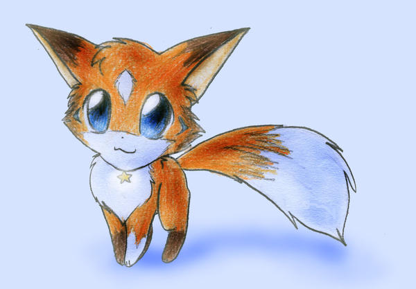 Path The Baby Fox By Ryusagi