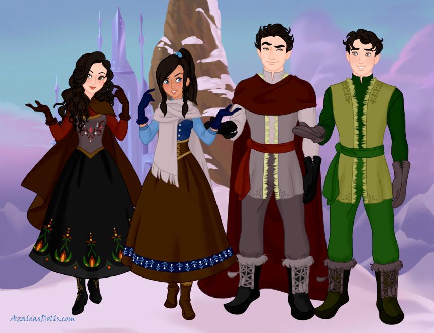 Legend of korra cast frozen by evenstar29 on deviantart legend of korra cast frozen by evenstar29 voltagebd Images
