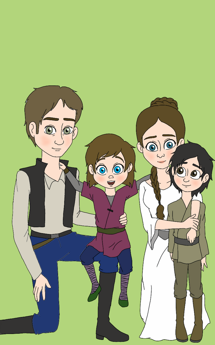 The Skywalker Family Over Time | Living with Star Wars