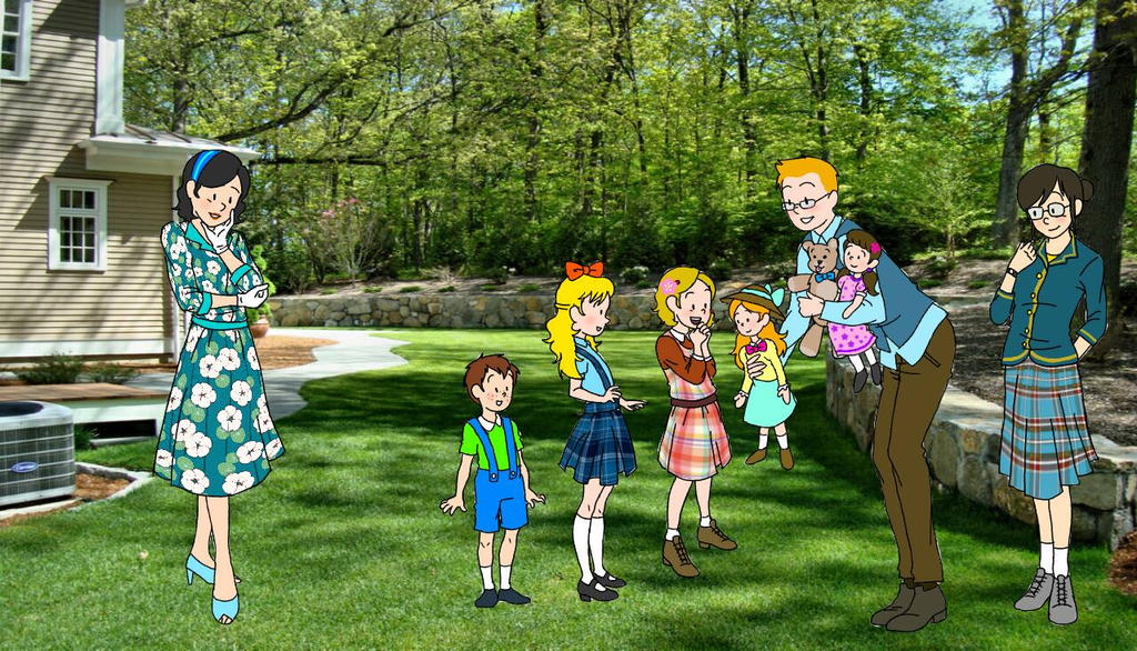 Meeting Tintin's family by evenstar29