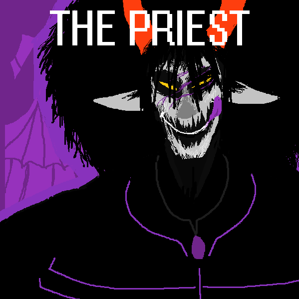 10. The Priest by E-mArt123