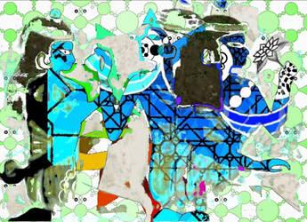 Blue Paint 4 by jiqoirs
