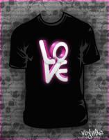Love multi t-shirt design by VoYtHAs