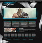 vision xtream web layout