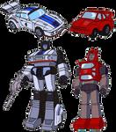 Transformers G1 Jazz+Cliffjumper