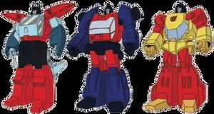 Transformers Headmasters Autobot Targetmasters