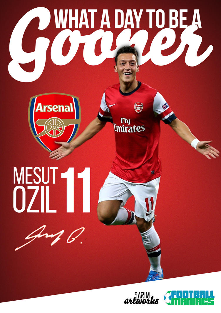 Mesut Ozil by thesarim1