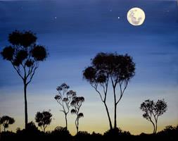 Moonrise by DropsOfTheUniverse