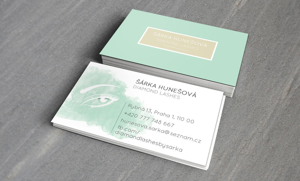 Business card by Lifety