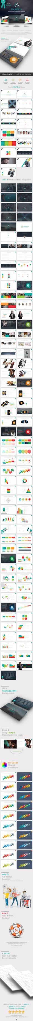 MAXIMUS - Business Powerpoint Presentation Templat
