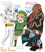 Link's harem went wrong by nextavatar