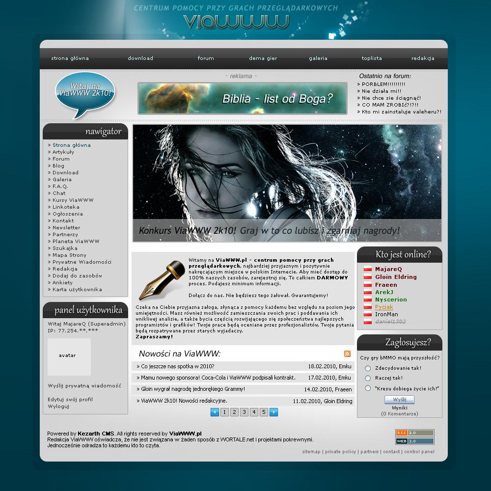 ViaWWW Portal by majareq