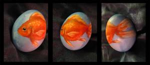 Fishy Egg by agent-elf