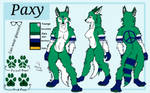 Paxy ref sheet by EverythingPsycho