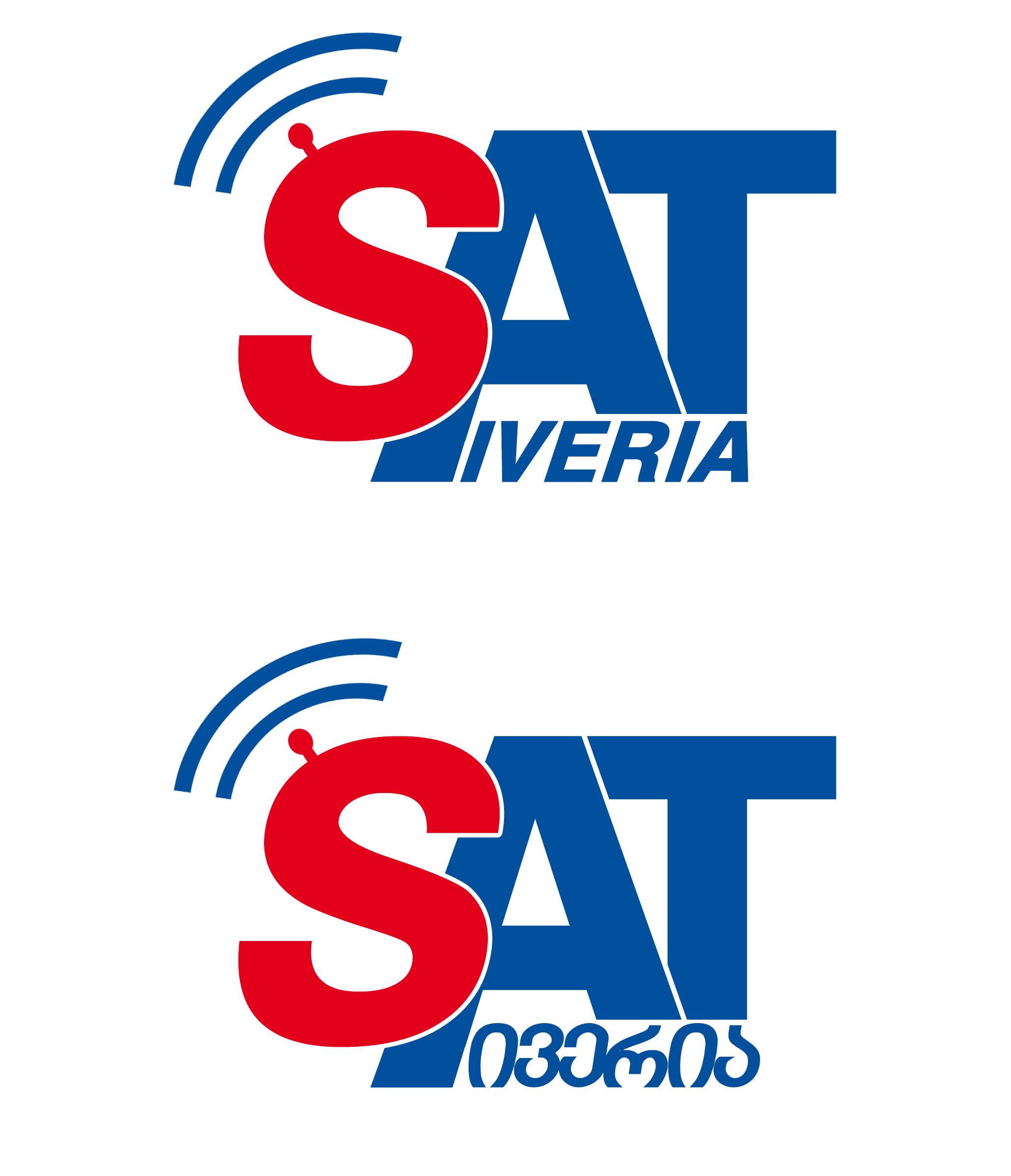 iveria sat logo design by giozaga on deviantart