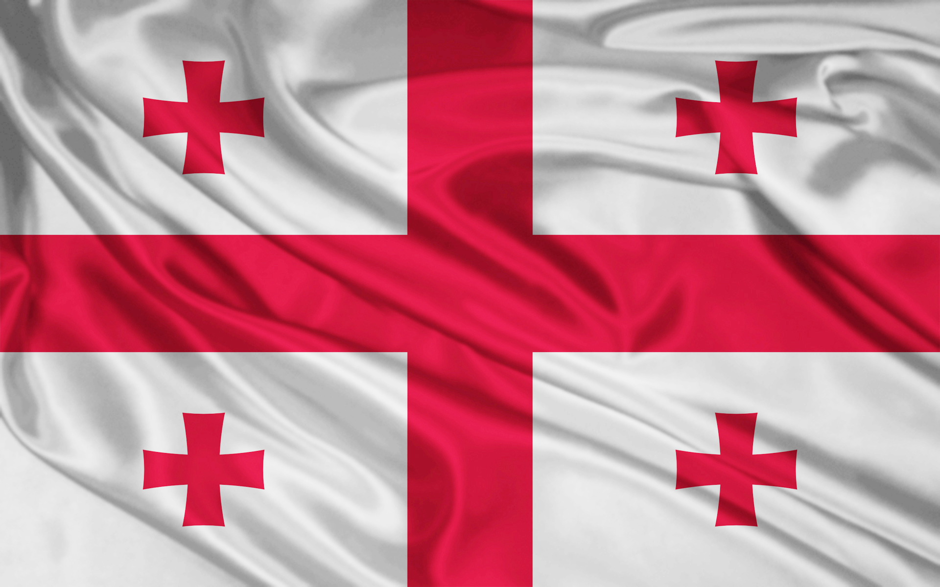 Georgian Flag #6 HD 1920x1200 by giozaga