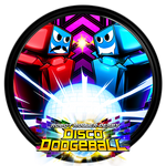 Robot Roller Derby Disco Dodgeball - Dock Icon by courage-and-feith