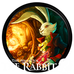 The Night of The Rabbit - Dock Icon by courage-and-feith
