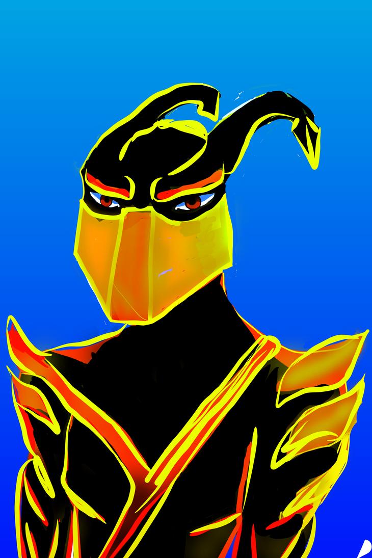 Demon Ninja 2 by digitalQube18