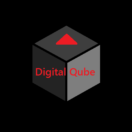 Digital Qube logo by digitalQube18