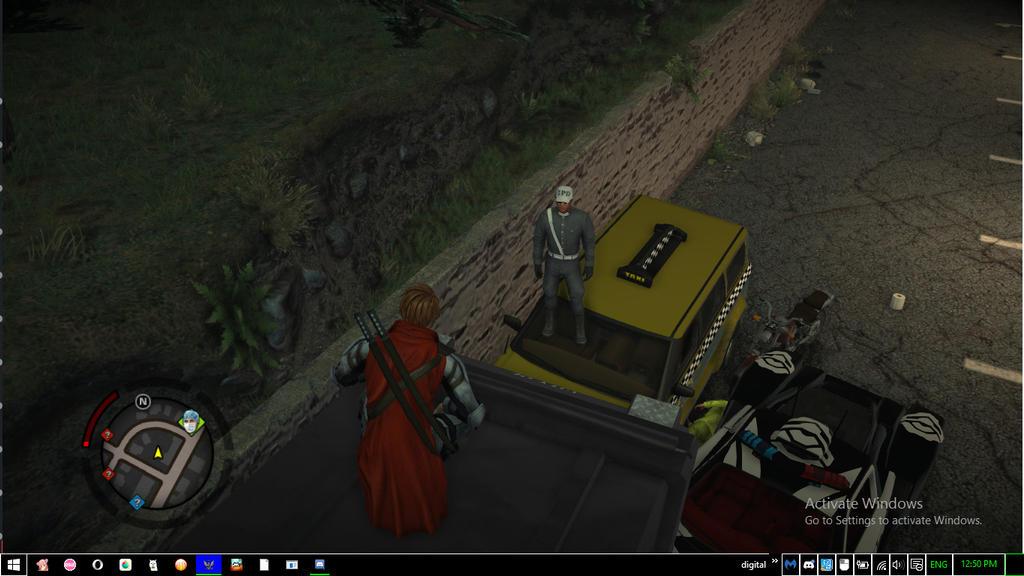 Trolling Cops In Saintsrow 4 by digitalQube18