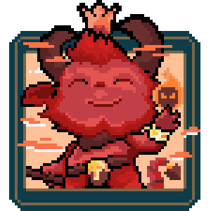 Teemo Devil Icon by PixelCard
