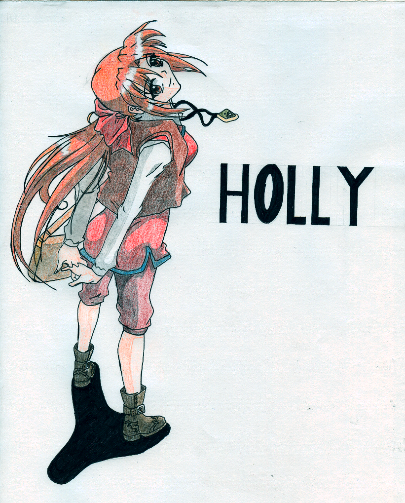 Monster rancher holly
